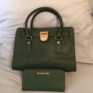 Michael Kors bag with wallet,